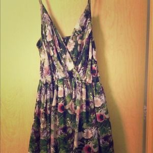 Jack by BB Dakota floral print dress. Sz. Small
