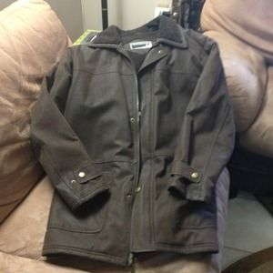 Must go!!...Brown Winter Jacket for men size M