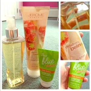 Lotions and body mist bundle!