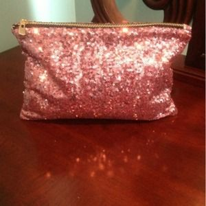 Beautiful Sparkly Pink Clutch