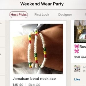 Jewelry - 🎀HP🎀 Jamaican bead necklace