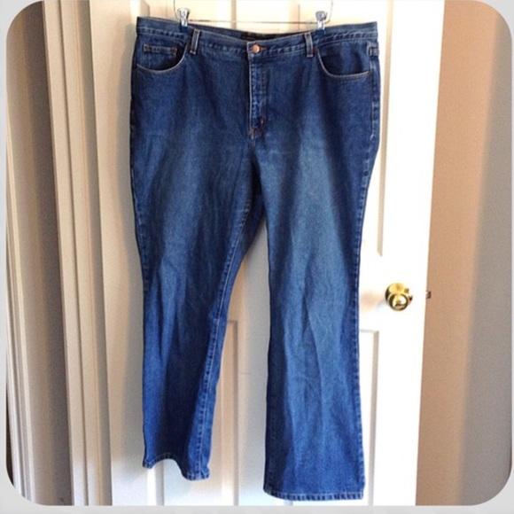 venezia Denim - Venezia Lane Bryant sz 22 Jeans Blue plus size