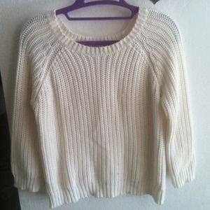 Forever 21 Knitted Crop Sweater