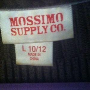 Mossimo Supply Jackets & Coats - Brown quarter-sleeve sweater