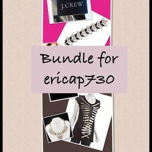 Bundle BCBG TShirt & JCrew Bracelet
