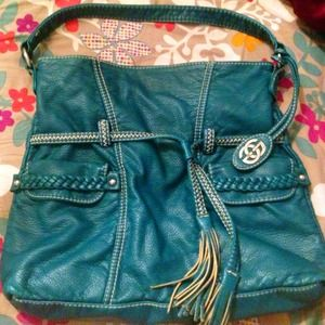 Marc Ecko Handbags - Teal Marc Ecko tote