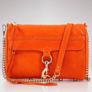 Rebecca Minkoff MAC Clutch in Orange