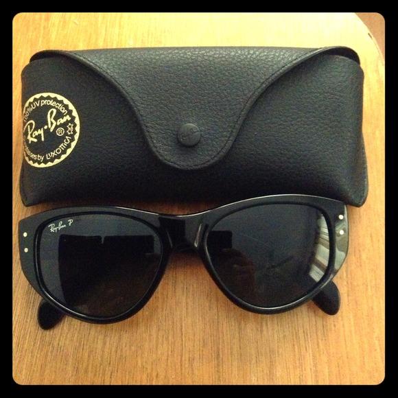 ray ban vagabond polarized sunglasses  authentic rayban 4152 601/58 vagabond polarized