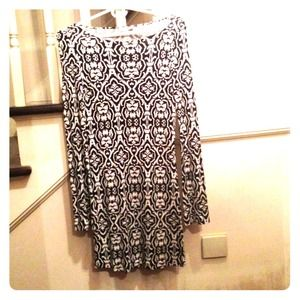 Josh Brody Dresses & Skirts - Josh Brody black and white print dress