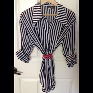 Tops - Beetlejuice Button-Up