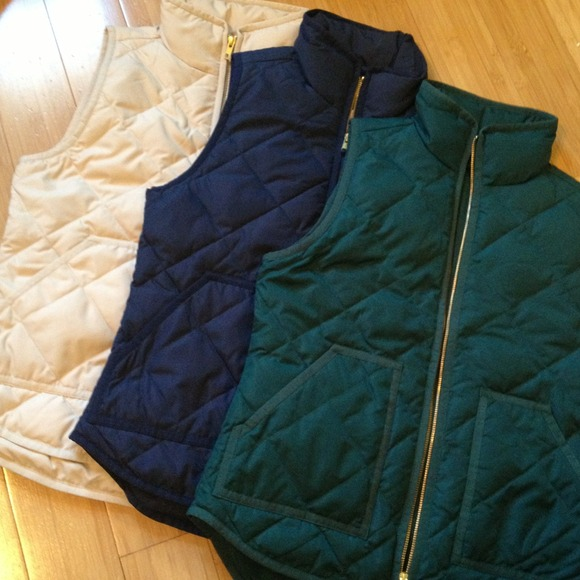 J Crew Jackets Amp Coats All Sold Jcrew Quilted Puffer
