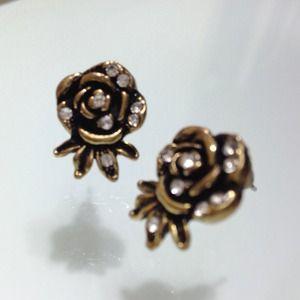 ASOS Flower Stud Earrings