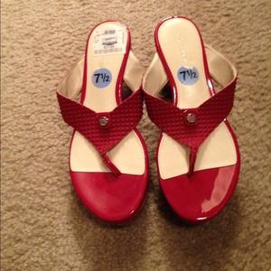 Calvin Klein Shoes - Calvin Klein wedge sandals