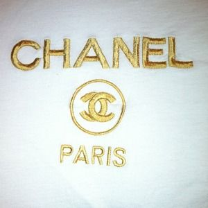 CHANEL Vintage Large White Tee (Just showing off!)