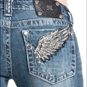 Miss Me Jeans - ⭐MISS ME jeans. Wing pocket. Boot Cut.