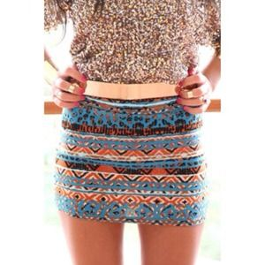Sabo Skirt Egyptian Bodycon Skirt
