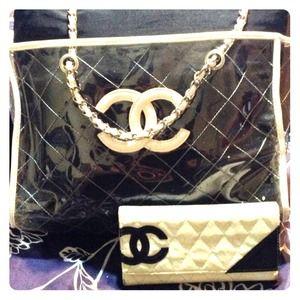 Chanel purse & wallet