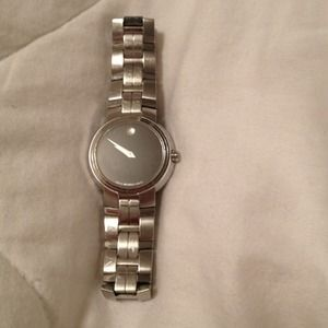 Authentic Movado watch.