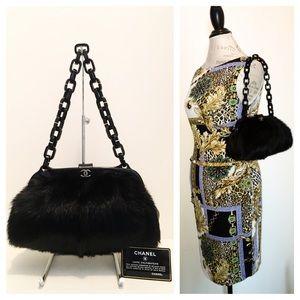 CHANEL Handbags - Chanel Fur Handbag