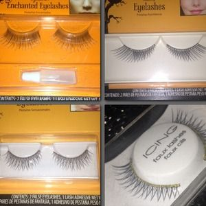 Bling bling 💎💄Faux eyelashes