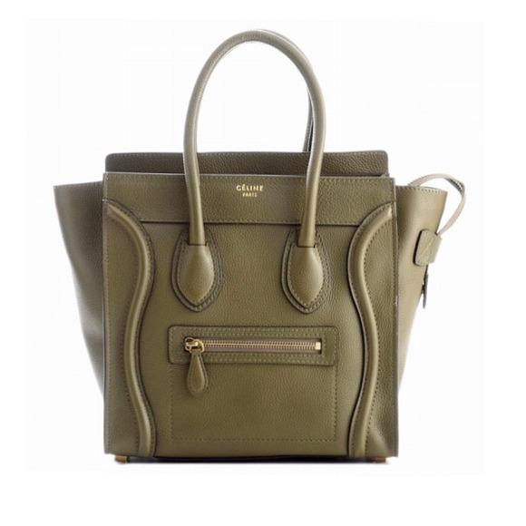 NEW Celine Micro Luggage in Jungle NWT 0ab60f9e5555c