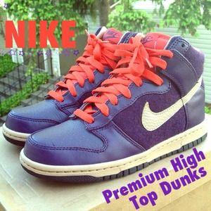 🔸 NIKE Premium High Top Dunks