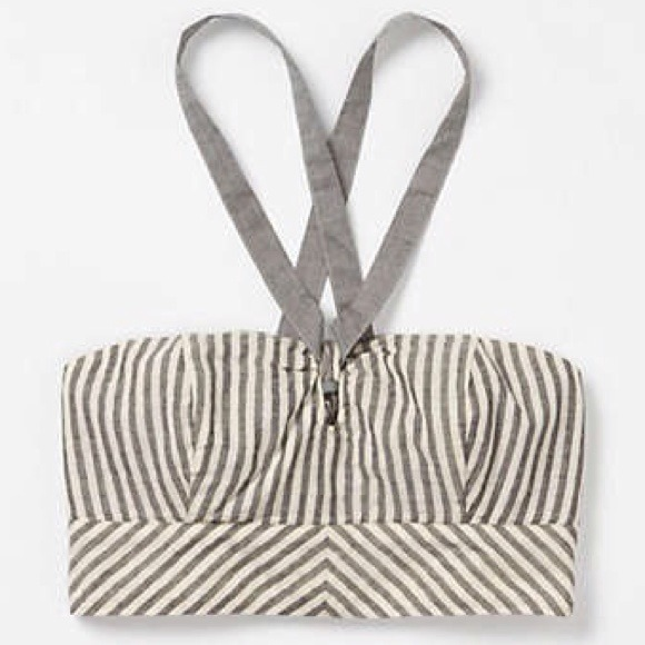 Anthropologie Tops - host pick x2 anthropologie striped bandeau
