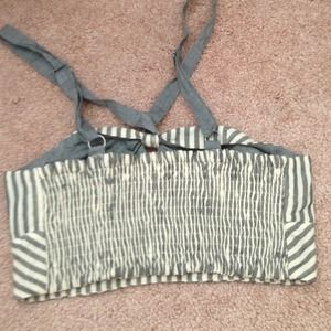 Anthropologie Tops - host pick x2 anthropologie striped bandeau 3