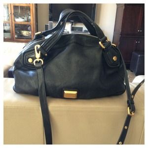 No longer available!!!! MJ black satchel