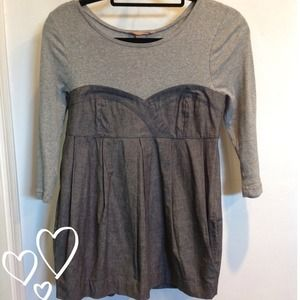 H&M layered blouse