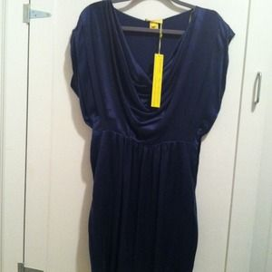 Catherine malandrino dress with ziper on the side