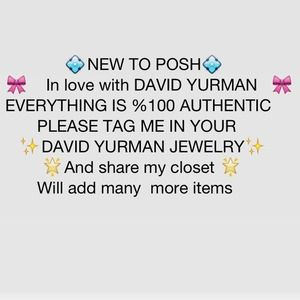 David Yurman Authentic Visit my closet 