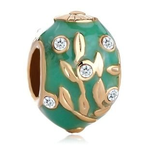 FINAL⬇❤PUGSTER FABERGE EGG CHARMNWT, used for sale