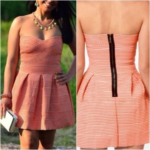 Zig zag super bandage dress