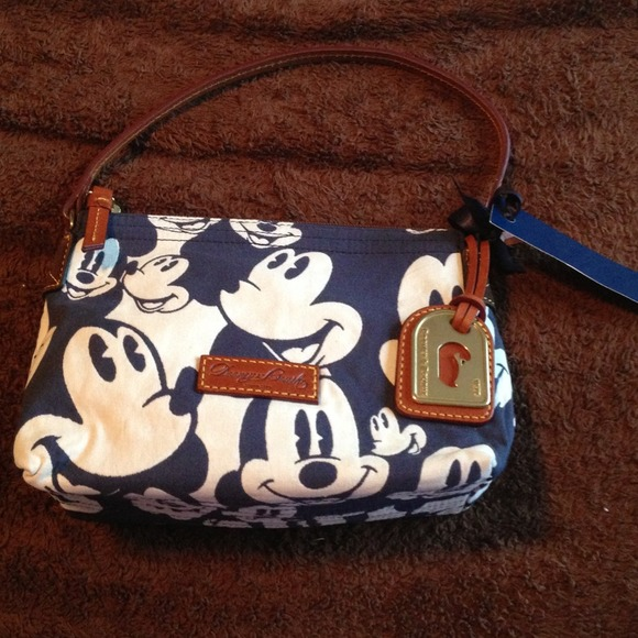 bdf8fb2ded9b9b Dooney & Bourke Bags | Dooney And Bourke Mickey Mouse Pouchette ...