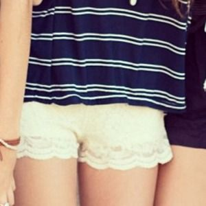 Brandy Melville Laced Shorts