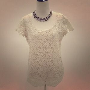 Talula Tops - Aritzia white lace top