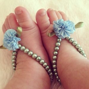 Other - Baby barefoot sandals