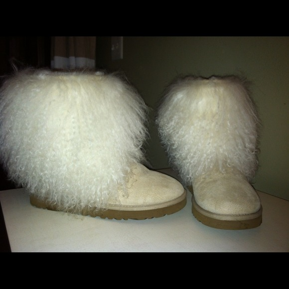 Ugg Shoes Mongolian Sheep Hair Boots Poshmark