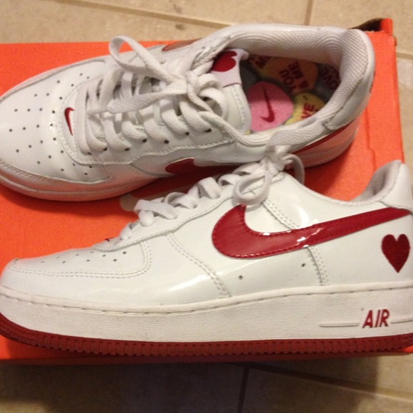 Limited edition valentines day Nike Air Force 1