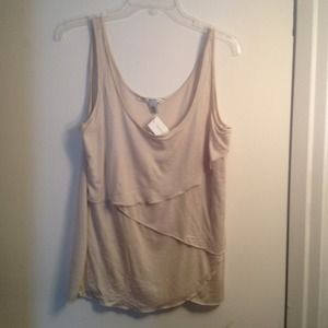 Banana Republic Tops - BANANA REPUBLIC: Tiered Tank.