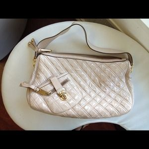 Marc Jacobs patent leather quilted bag