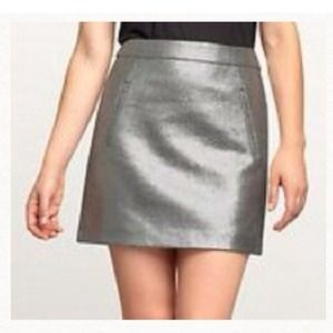 GAP Dresses & Skirts - Silver mini skirt