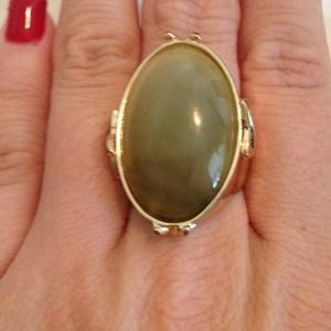 Gold with stone ring