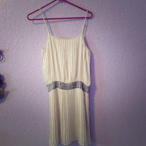 Parker cream dress