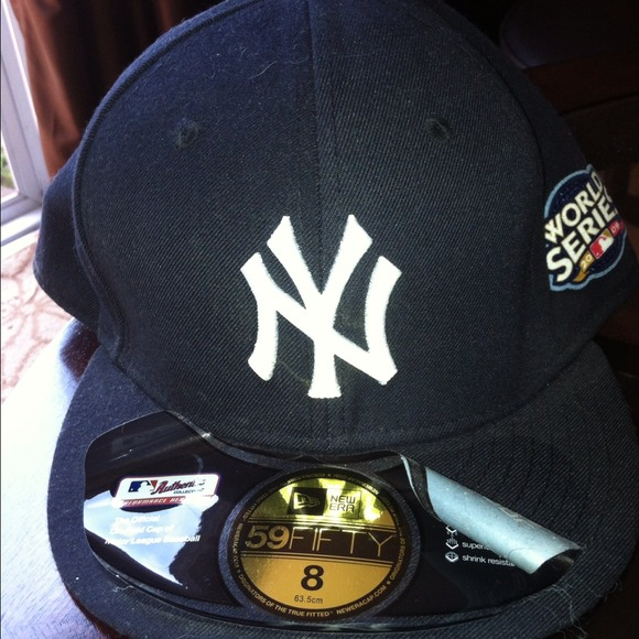 RARE- yankees hat- inaugural season- world series 54c0a9ec6be