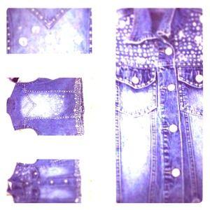 Hand sewn Levi vest