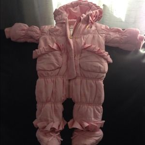 Beautiful juicy snow suit
