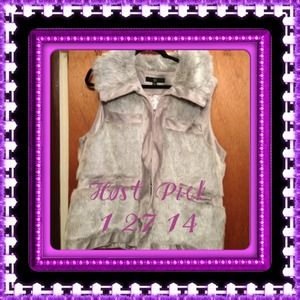 HOST PICK 1-27-14 Rachel Zoe Faux Fur Vest