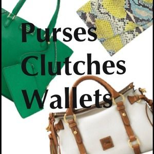 Purses, clutches and wallets all under $10